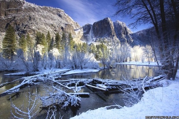 yosemite-falls-winter